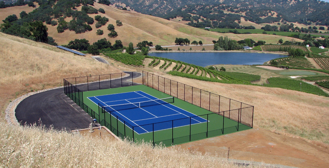 Nova Sports All-Weather tennis court surface